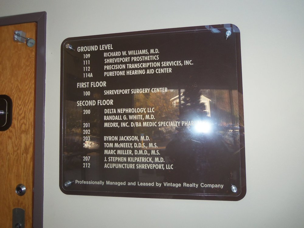 Interior Signage, Directories, and Directionals