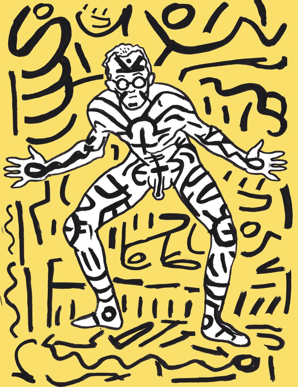 Keith Haring by  Elena Durey .
