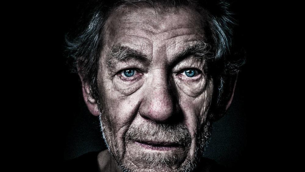 Sir Ian as King Lear