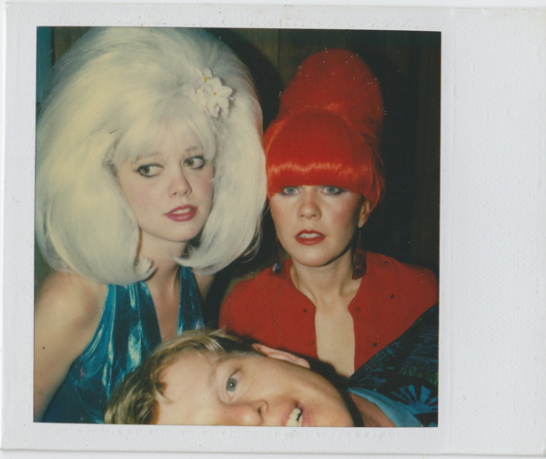 Left to Right - Cindy Wilson, Ricky Wilson and Kate Pierson