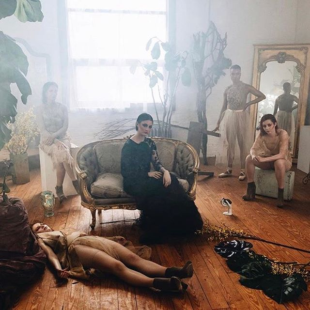 COMPLY by the lovely @sara.kendall ♥️ shot @monaliza.studios by @barbieleungdp //@ireallyhopeyouwin @dobs_ny @gallexii @_helenharley @residualsadness @facing_venus ⠀ #videoshoot #photostudio #musicvideo #nycartist #singersongwriter #setdesign #setlife