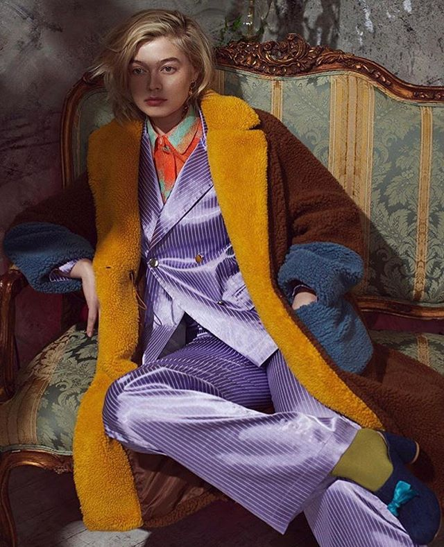 Congrats to our Love @khrystyana for signing with @onemanagement 🧡 !! Photo by @ryanmichaelkelly MUA @veronicaxyz Hair @hsbk_ wearing @dreamsonairnyc // Coat @saku_newyork Suit @salakaia_official Shoes @pleiades_shoes Shirt @kahindo_nyc Earring @klotodesign // Shot at @monaliza.studios  #teamone#onemodel#onemodels#newyorkmodel#highfashion#curve#gucci#look#style#setlife#bts#onset#suit#silk#photostudio#fashionshoot#nyc#brooklyn