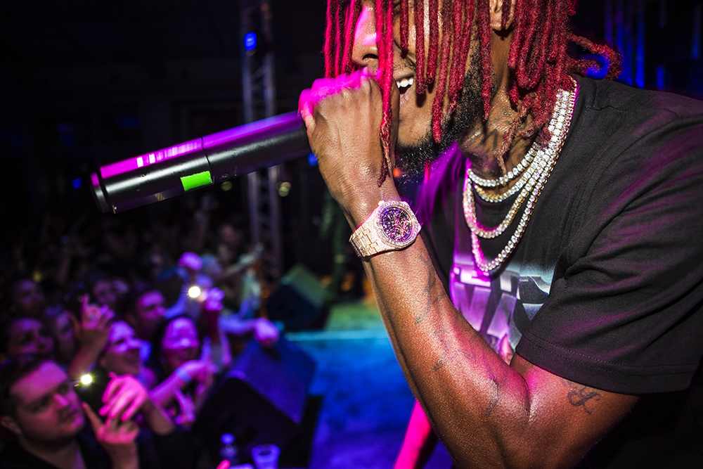 Fetty Wap Performance 2017
