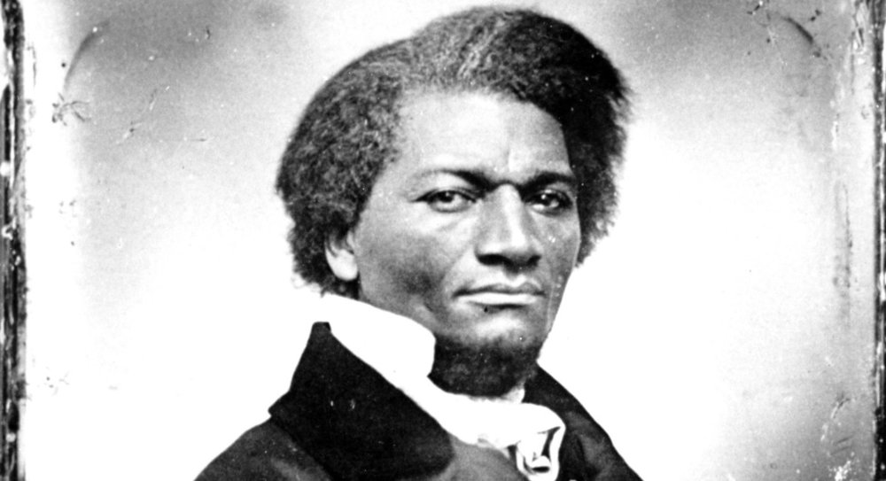 This is an undated photo of abolitionist Frederick Douglass. | AP Photo
