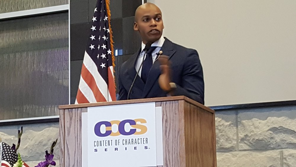 Jonathan Alexandre Speaks at COCS Omaha 2018