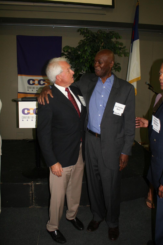 John Cox and Dr. Charles Ware.JPG