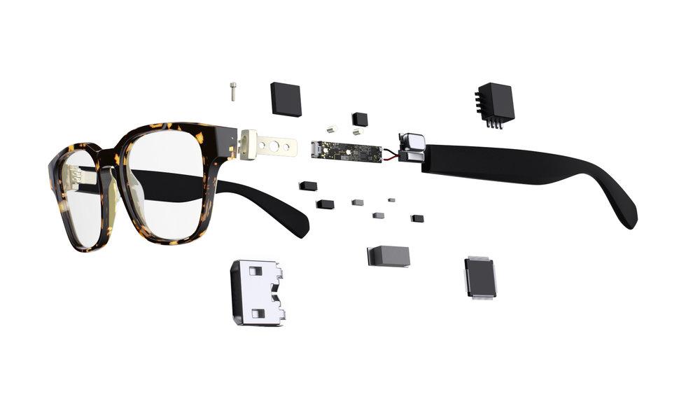 Level smart glasses Hedy classic tortoise technology diagram.jpg