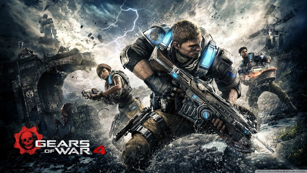 Gears of War 4 - System: Windows 10, Xbox One - Format: 1v1 - Best of 3, Double Elimination