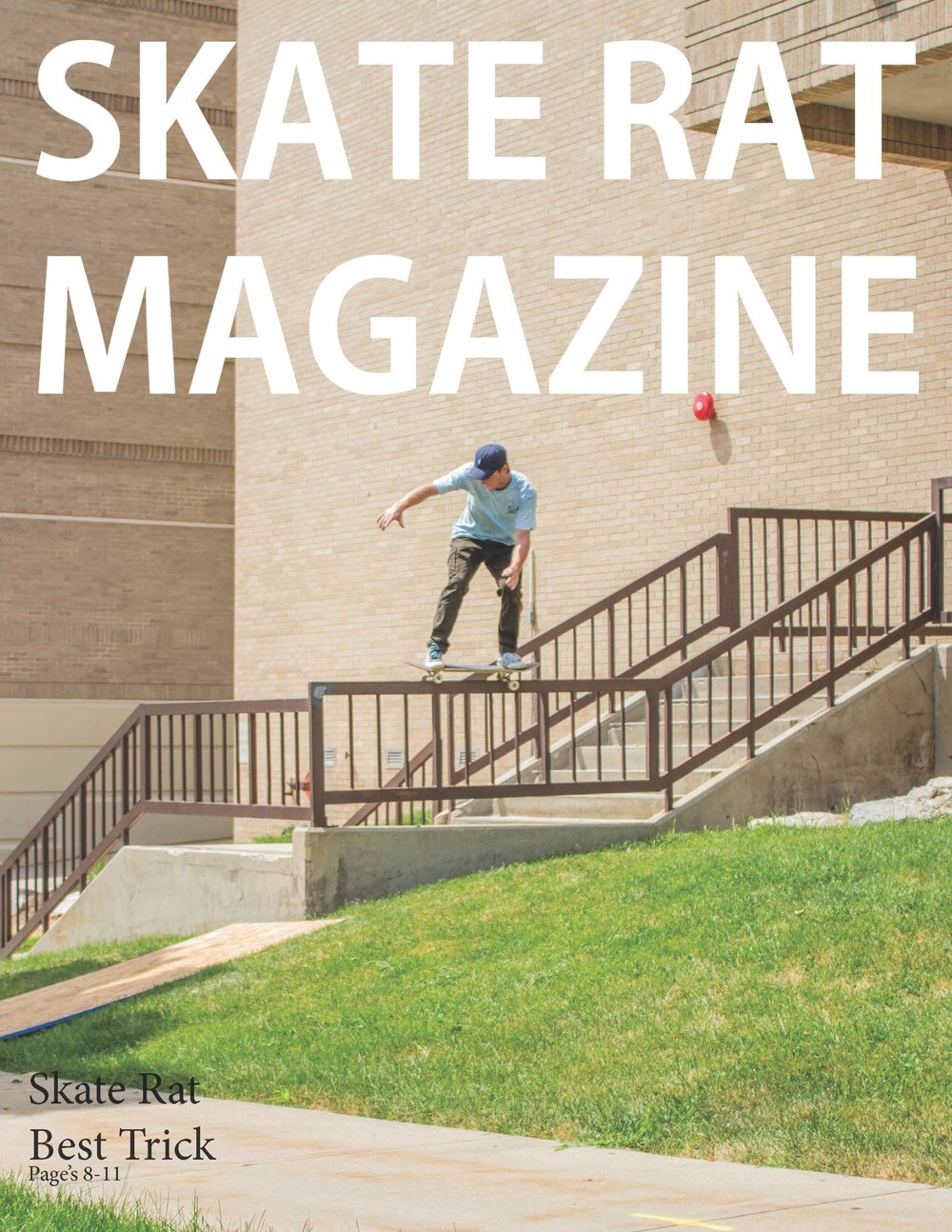 Skate Rat Magazine Issue #2  -