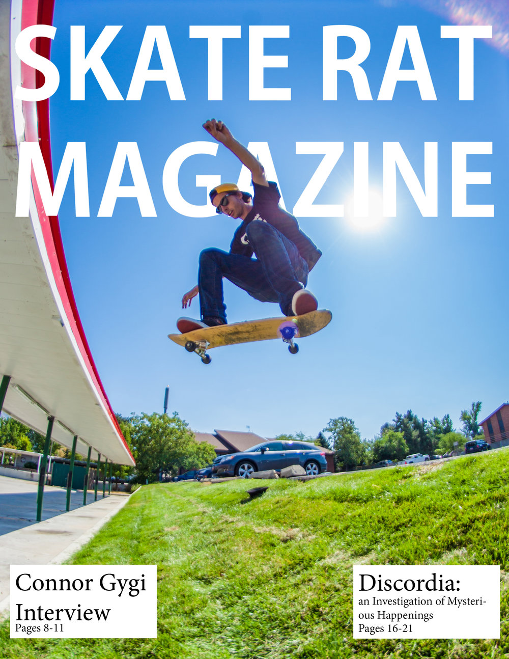 Skate Rat Magazine Issue #3 -