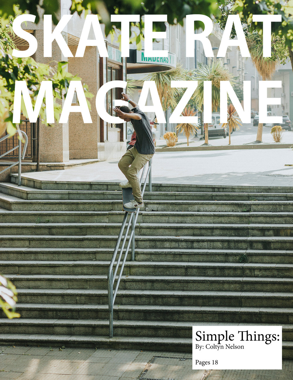Skate Rat Magazine Issue #4 -