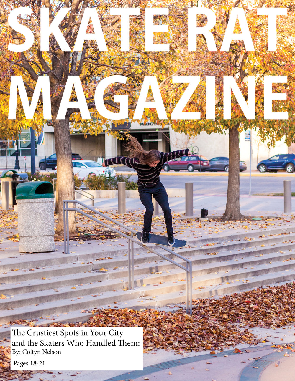 Skate Rat Magazine Issue #5 -