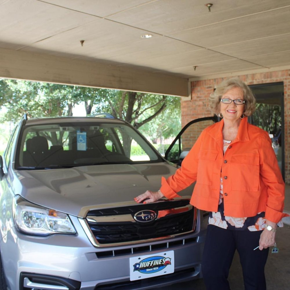 Serve Denton Board Member with Subaru