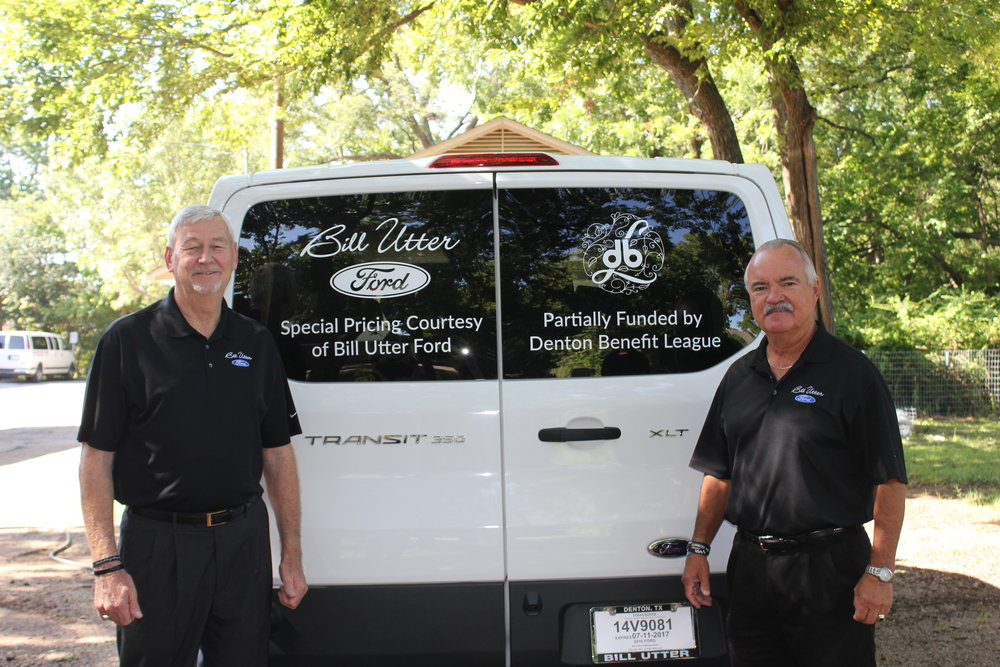 Bill Utter Ford Sales Person Doyle Chaffin & Bill Utter Ford General Sales Manager Carl Anderson