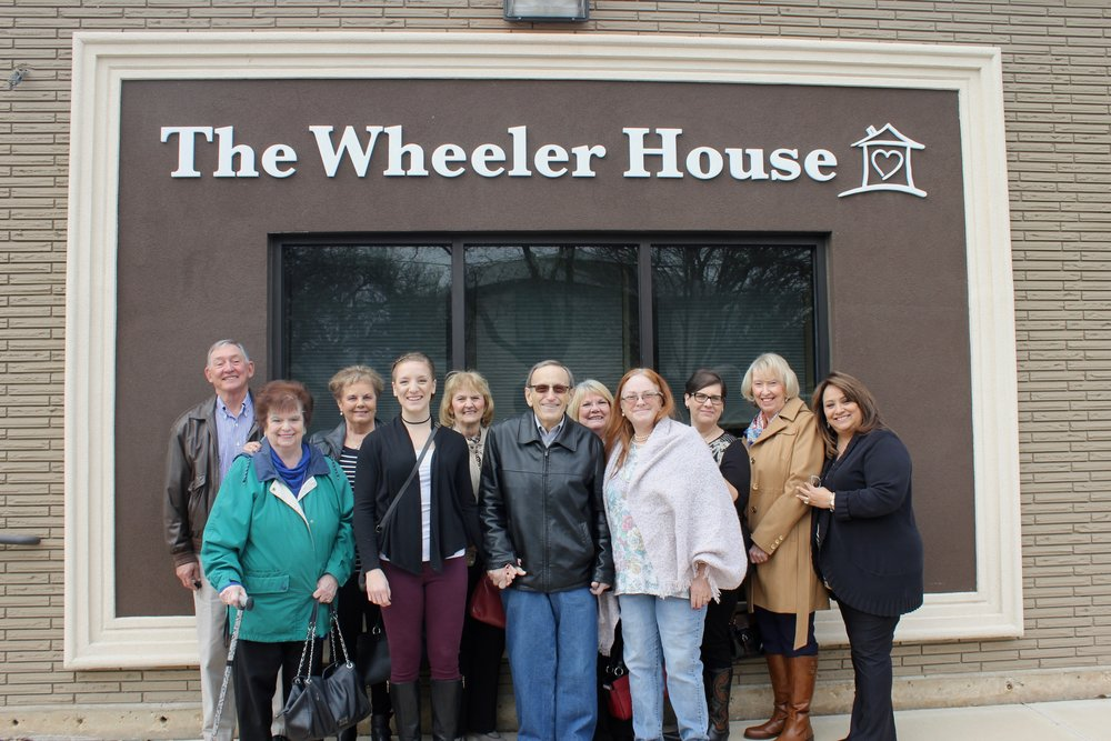 Jim Wheeler, the previous owner of The Wheeler House building, and his family.