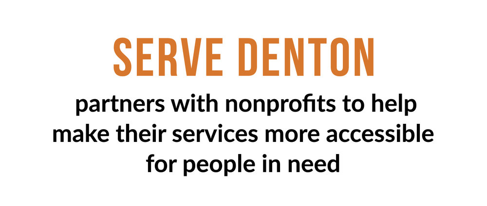 Serve Denton Mission Statement