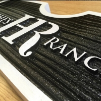 SANDBLASTED - HDU foam in either wood or sand grain