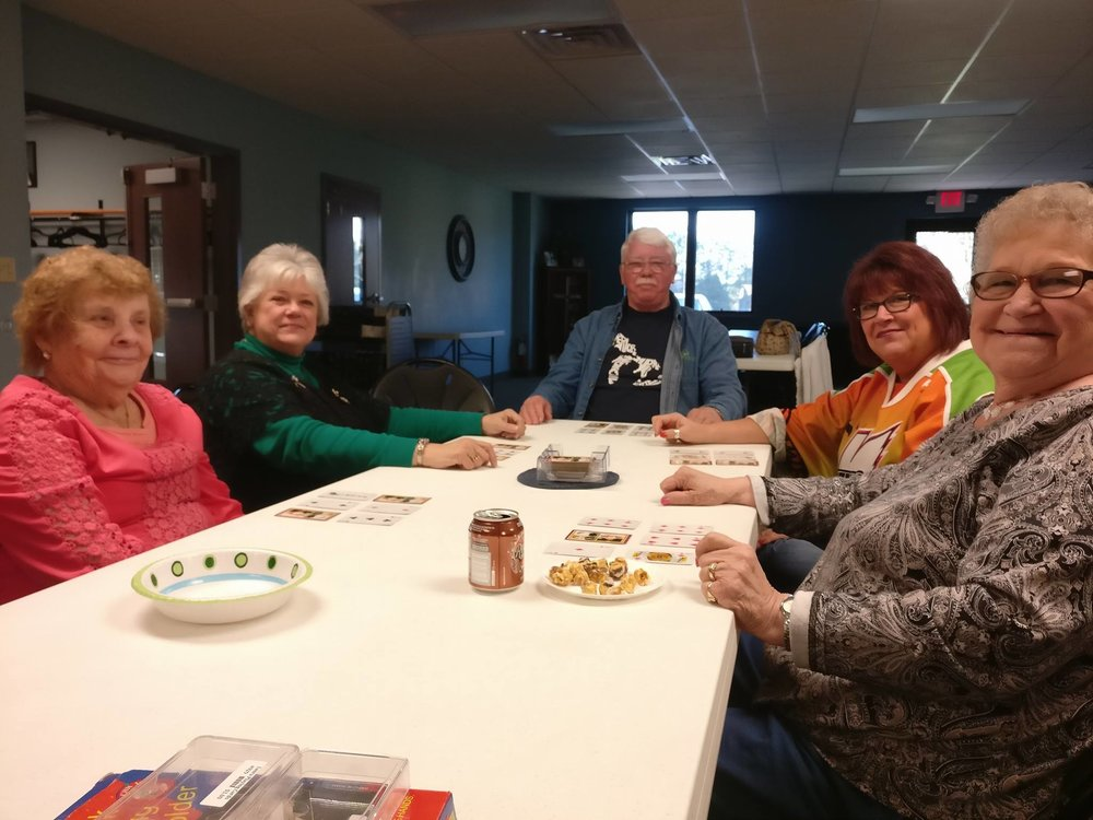 Sunday Fun and Friendship - This group meets Sunday evenings about 6 p.m. for cards and conversation. You're welcome to join!