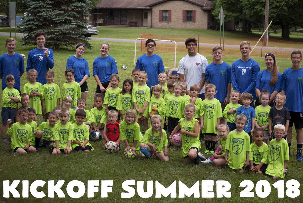 Soccer Camp - Every year we host a soccer camp for the community by the community. It's a favorite! Join us the second week of June.