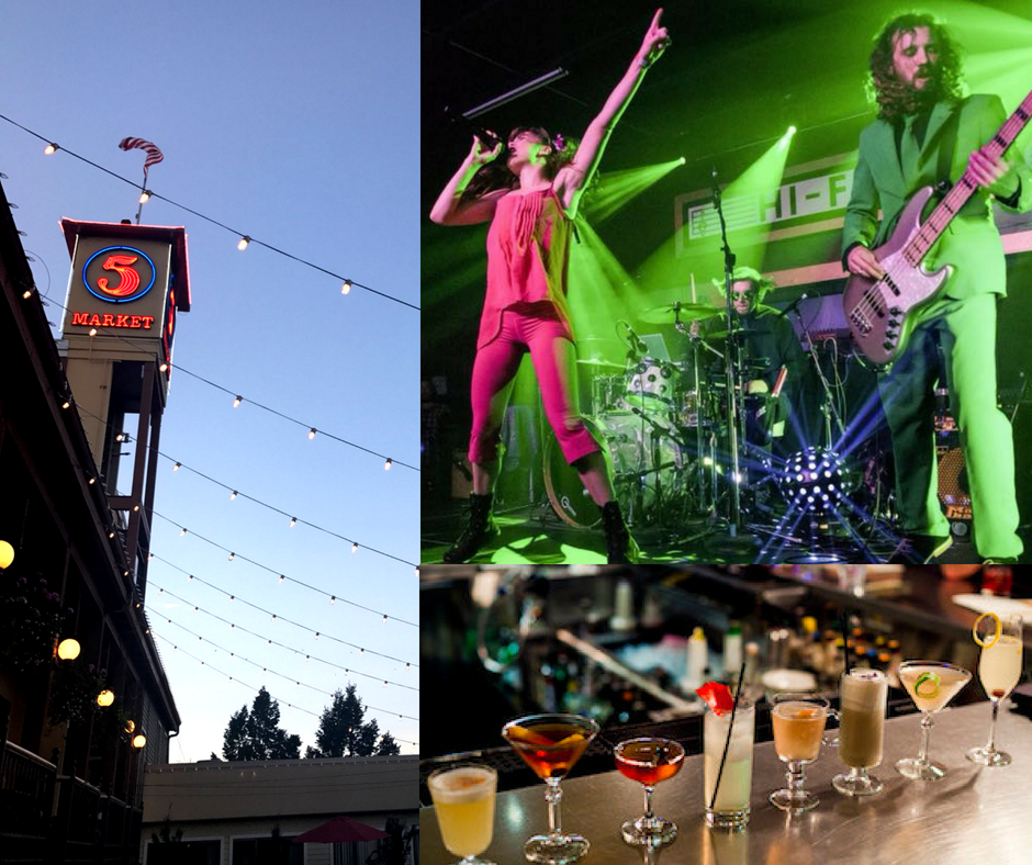 TGIFriday: August 24 |5 pm to 9:30 pm - Musicfrom energetic local band FORTUNES FOLLYFood Scene Eugene Mixology Competitionwhere talented local bartenders battle it out to be Eugene's best beverage mixerBar Garden +Beer Gardenflowing with local brewsDelectable foodfrom the Public Market Eateries