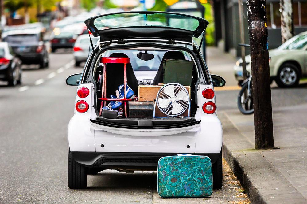 Car2go Social Media Campaign. Portland OR