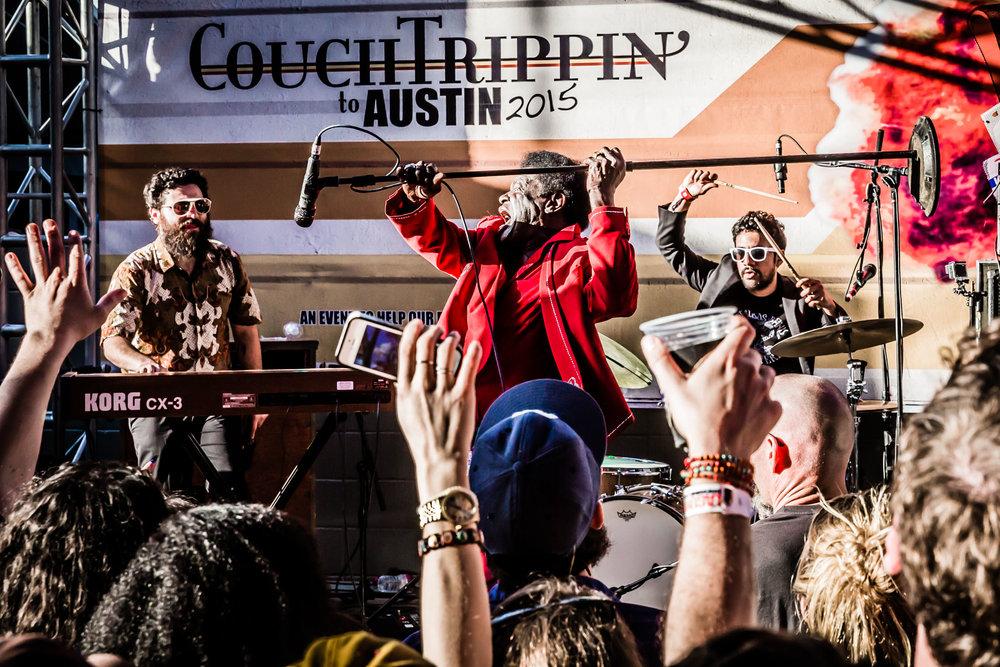 Charles Bradley SXSW 2015. Austin, TX
