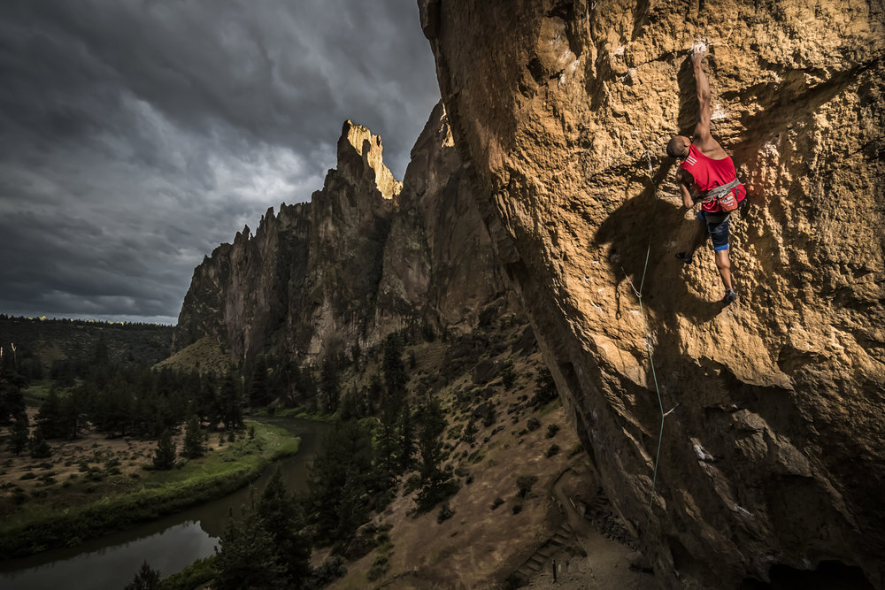 Kai Lightner. Smith Rocks, OR