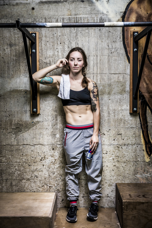 Loren Mutch RedBull athlete portrait. Portland, OR