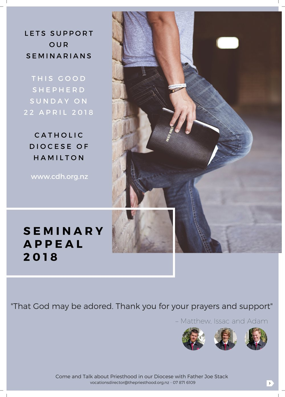 Seminary Appeal 2018