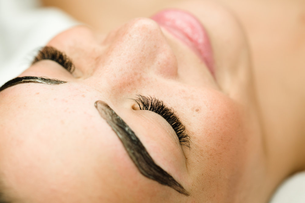Brow Tinting (15min) - Unlike shaping, waxing, threading, or tweezing, brow-tinting is a color service that doesn't take away any hair (although you can do so in conjunction with hair removal) but uses semi-permanent vegetable dye to enhance color, shape, and thickness—or all of the above. The benefits are immediate. $20