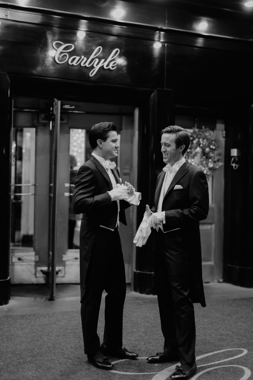 kevin + joshua | old world charm | carlyle hotel & the explorers club | manhattan
