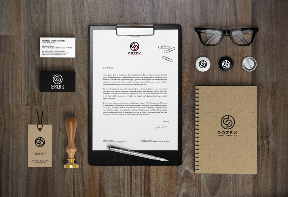 DP Branding Package Mock-Up - Studio 1816 Designs