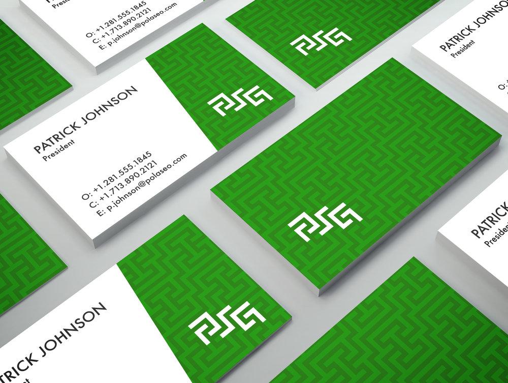 PSG Business Card Mock-Up - Studio 1816 Designs