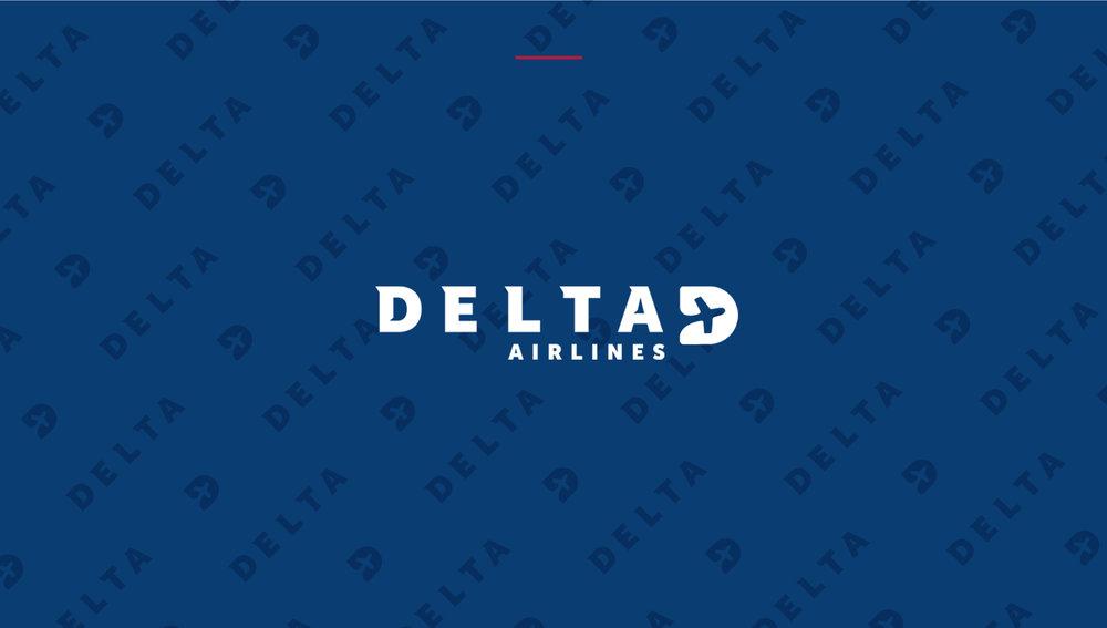 Delta Branding (Behance) - Delta Blue Banner - Studio 1816 Designs