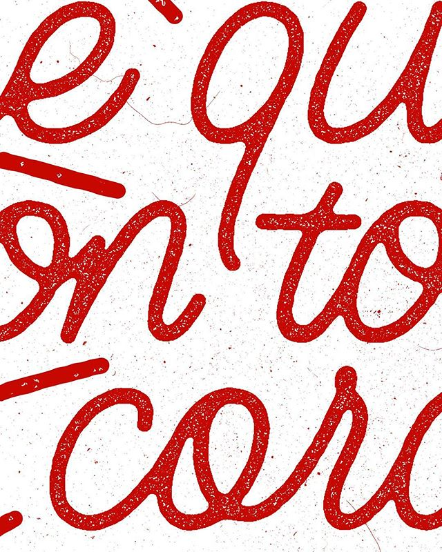 "I Love you with all my 💓 | Detail . . I tried my hand at a little Español for this one. I used a monoline script for the letters and added a starburst for some extra ""pop."" . . @goodtype @typelettering @thedailytype @typetopia @type.gang @typespire @typographyinspired @typography_and_calligraphy"