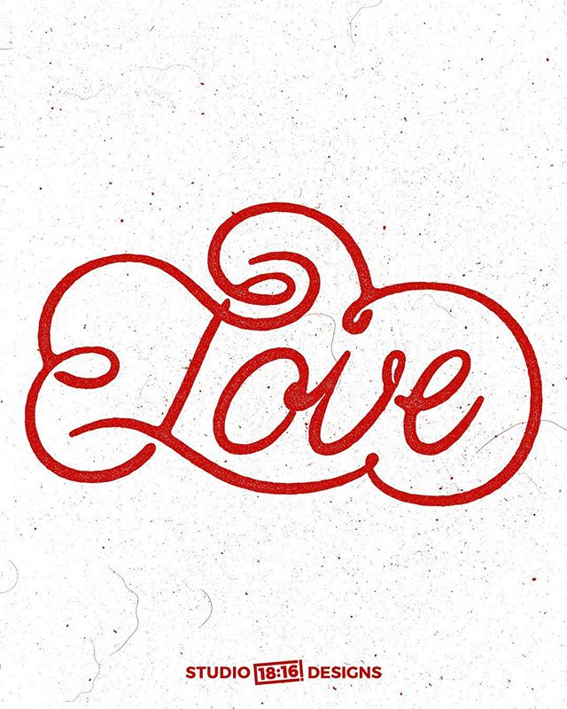 Love is... [fill the blank] . . @hallmark @hallmarkchannel @goodtype @typelettering @thedailytype @typetopia @type.gang @typespire @typographyinspired @typography_and_calligraphy