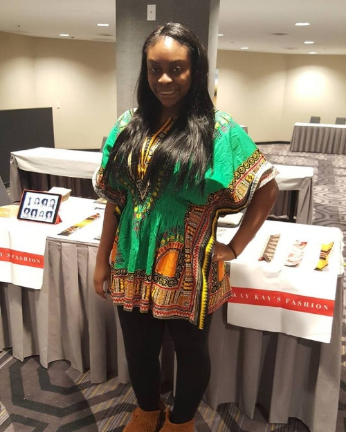 Kay Kay's Fashion was a vendor at the 13th annual Umu Igbo Unite 2017 in Los Angeles.