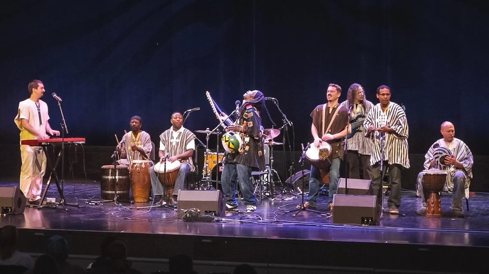 Tani Diakite And The Afrofunkstars play December 7 at the Majestic. Photo by Paddy Cassidy.