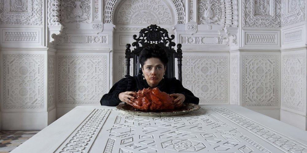 Salma Hayek in Matteo Garrone's  Tale Of Tales .