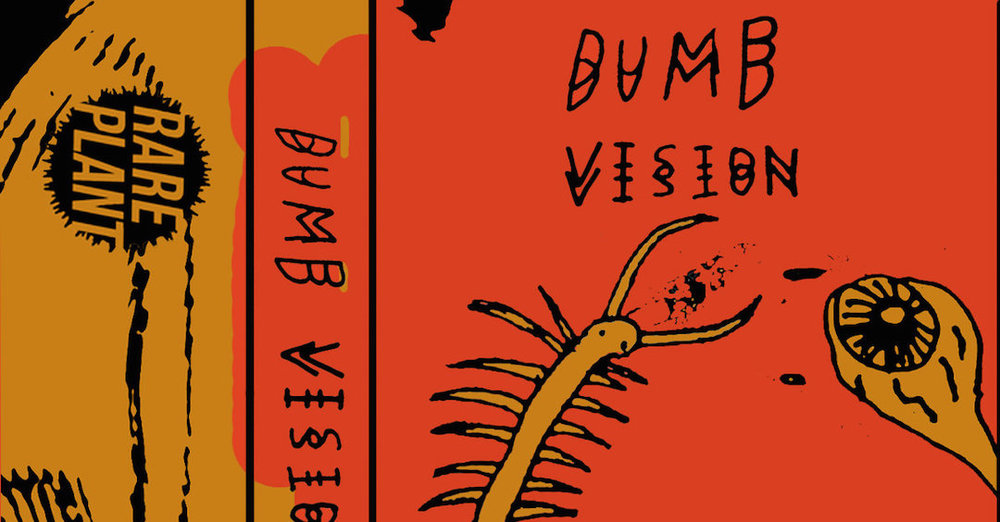 Detail from the cover art of Dumb Vision's new cassette, by Erick Fruehling.