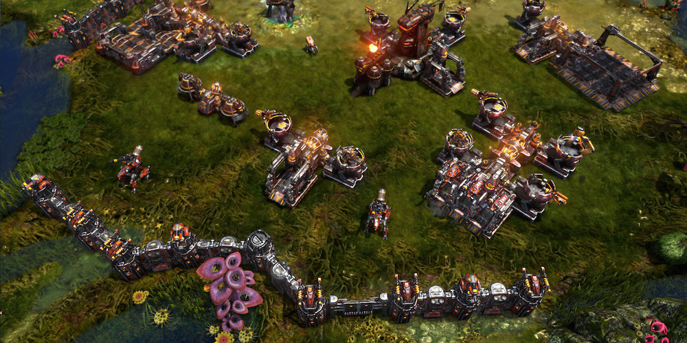 Grey Goo, one of the games for which William Annis has created languages.