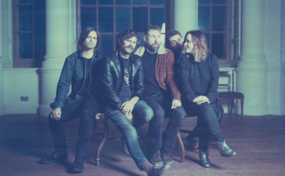 Slowdive. Photo by Ingrid Pop.