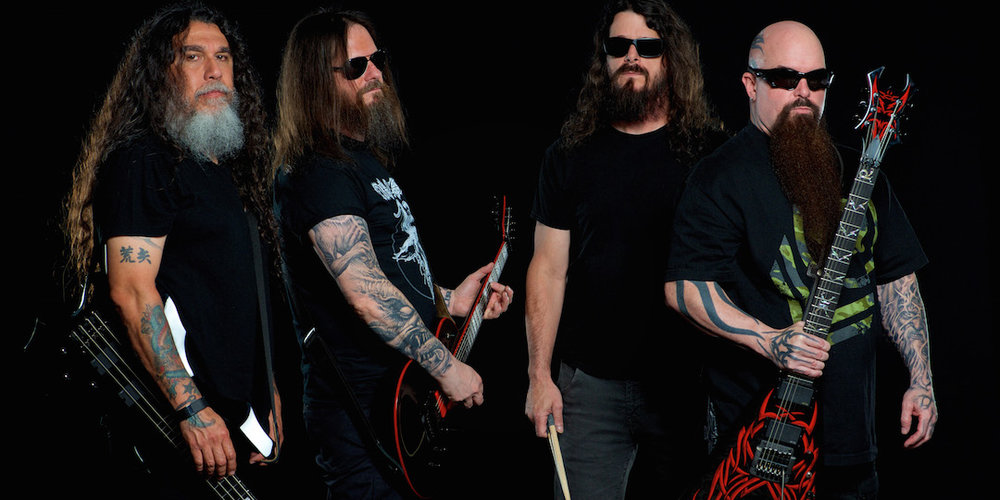 Slayer will play a March 9 show at the Orpheum. Photo by Andrew Stuart.