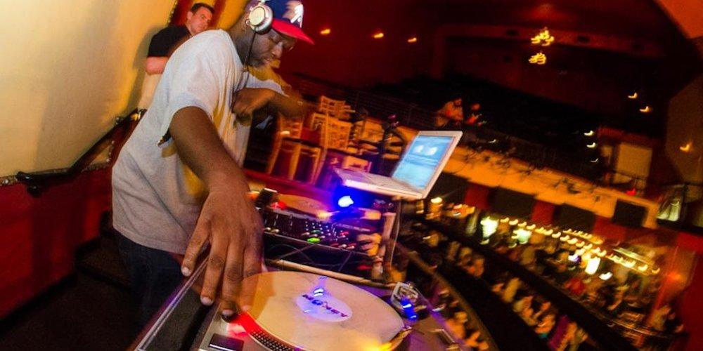 DJ Phil Money. Photo by Chris Lotten.