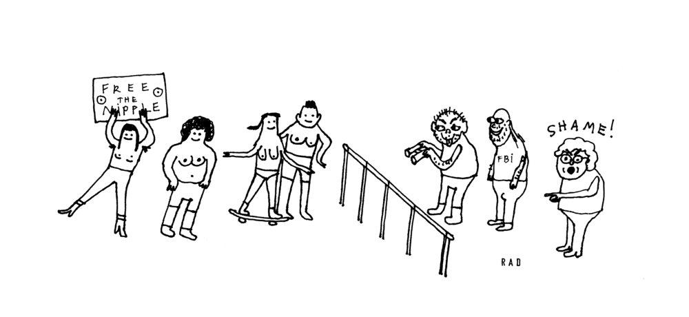 Illustrations by Rachal Duggan.