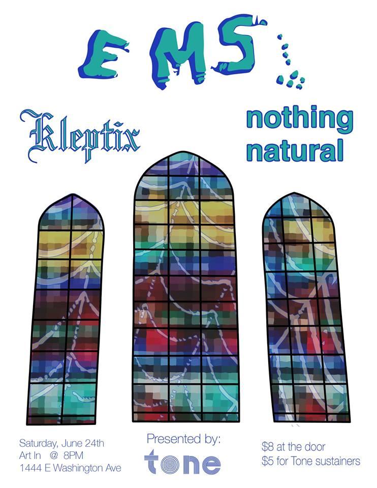 6/24/2017: EMS, nothing natural, kleptix