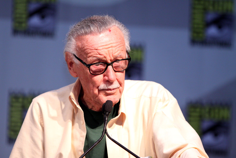 Stan Lee. Photo via Wikimedia Commons.
