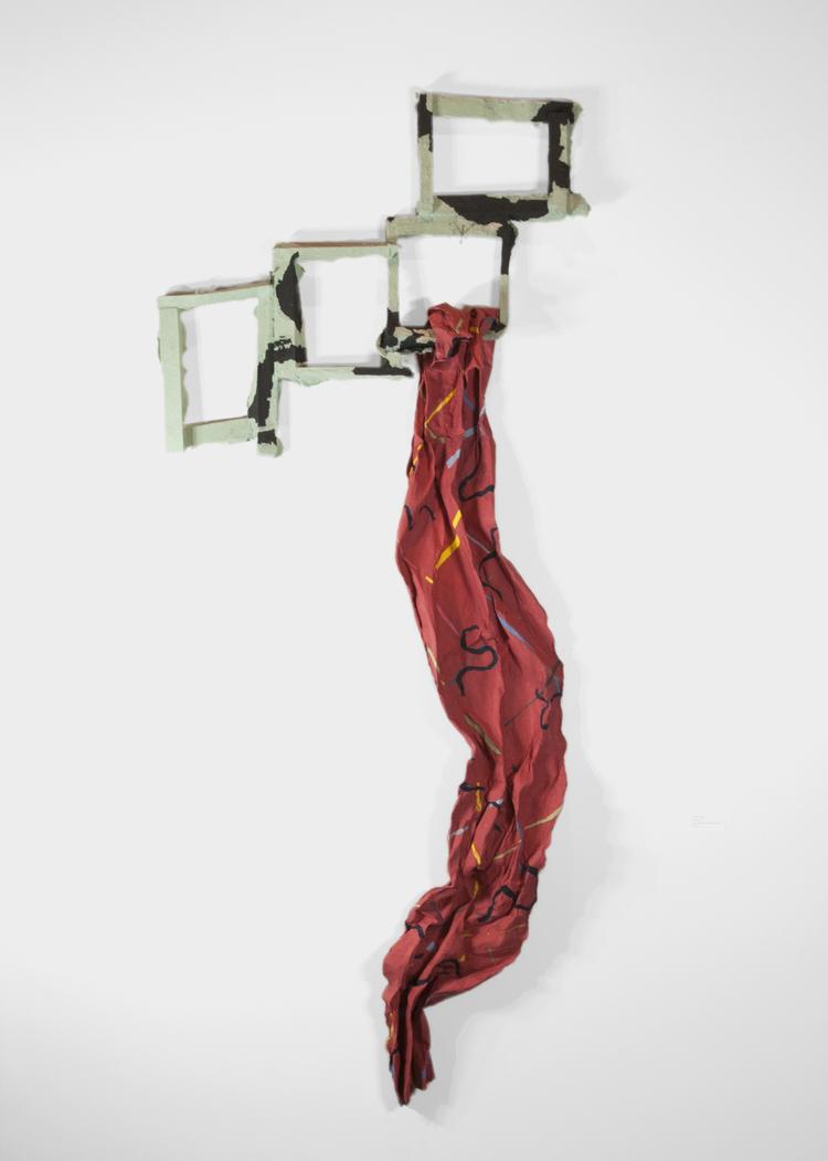 """Barbara Landes, """"Hanging On"""""""