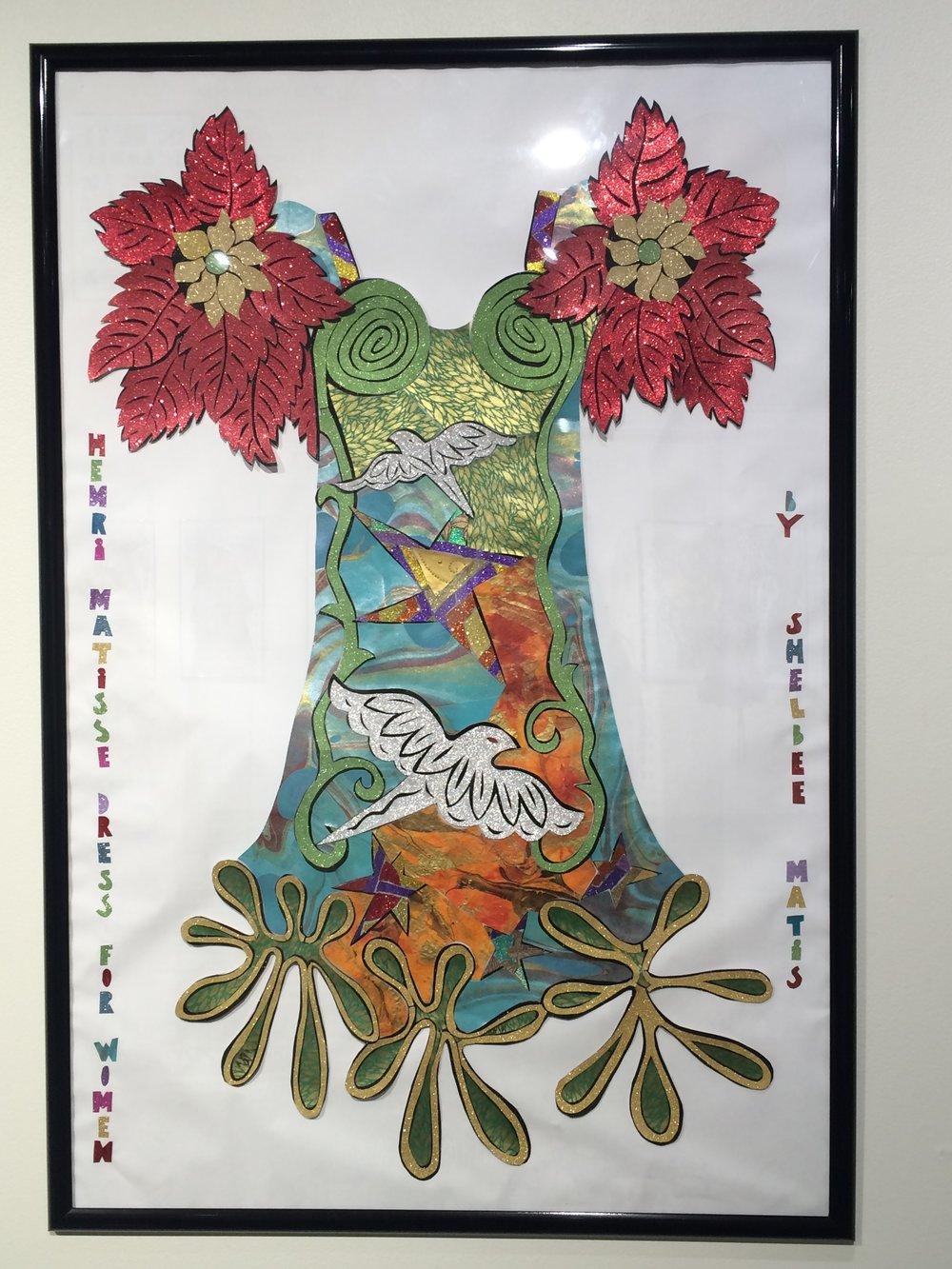 """Henri Matisse Dress"""