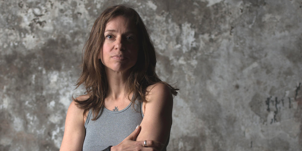 Ani DiFranco plays April 9 at the Barrymore. Photo by Charles Waldorf.